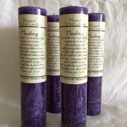Healing Blessed Herbal Candle Yatzuri