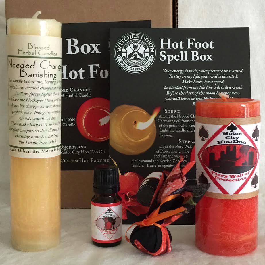 Hot Foot Spell Box