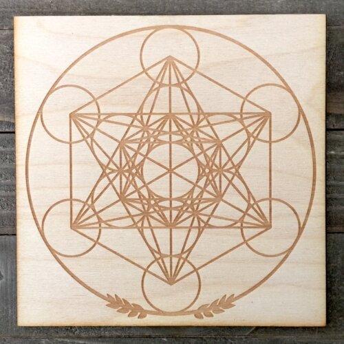 Metatron's Cube Grid