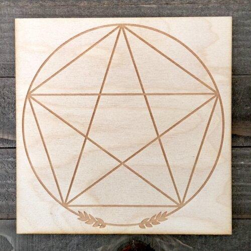 Pentagram Grid