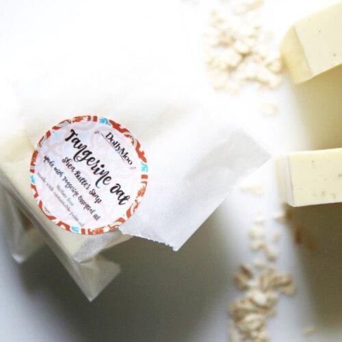 Tangerine Oat Shea Butter Soap