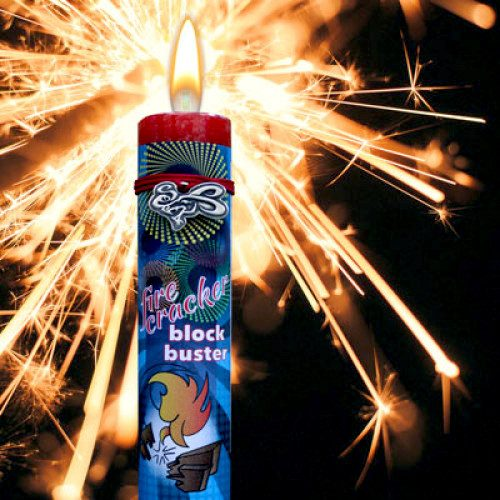 Firecracker Blockbuster Candle Yatzuri