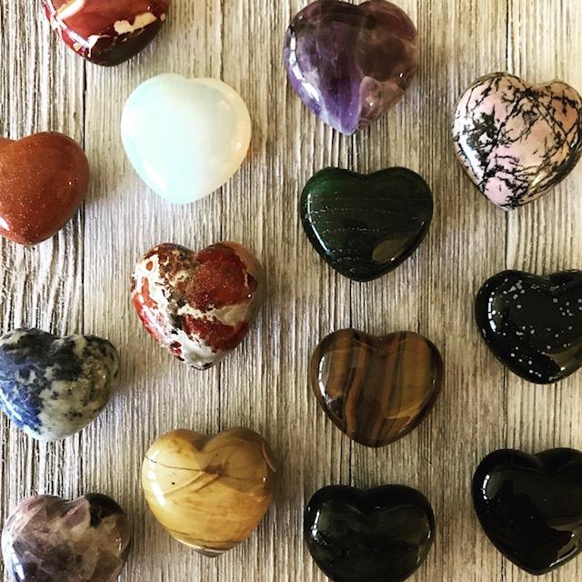 Gemstone Heart Collection Yatzuri