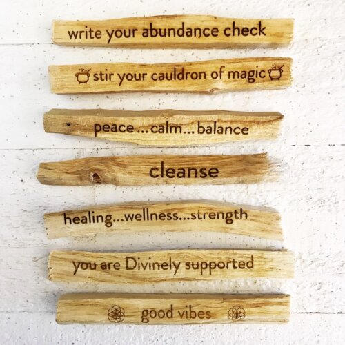 Intention Palo Santo Stick Yatzuri