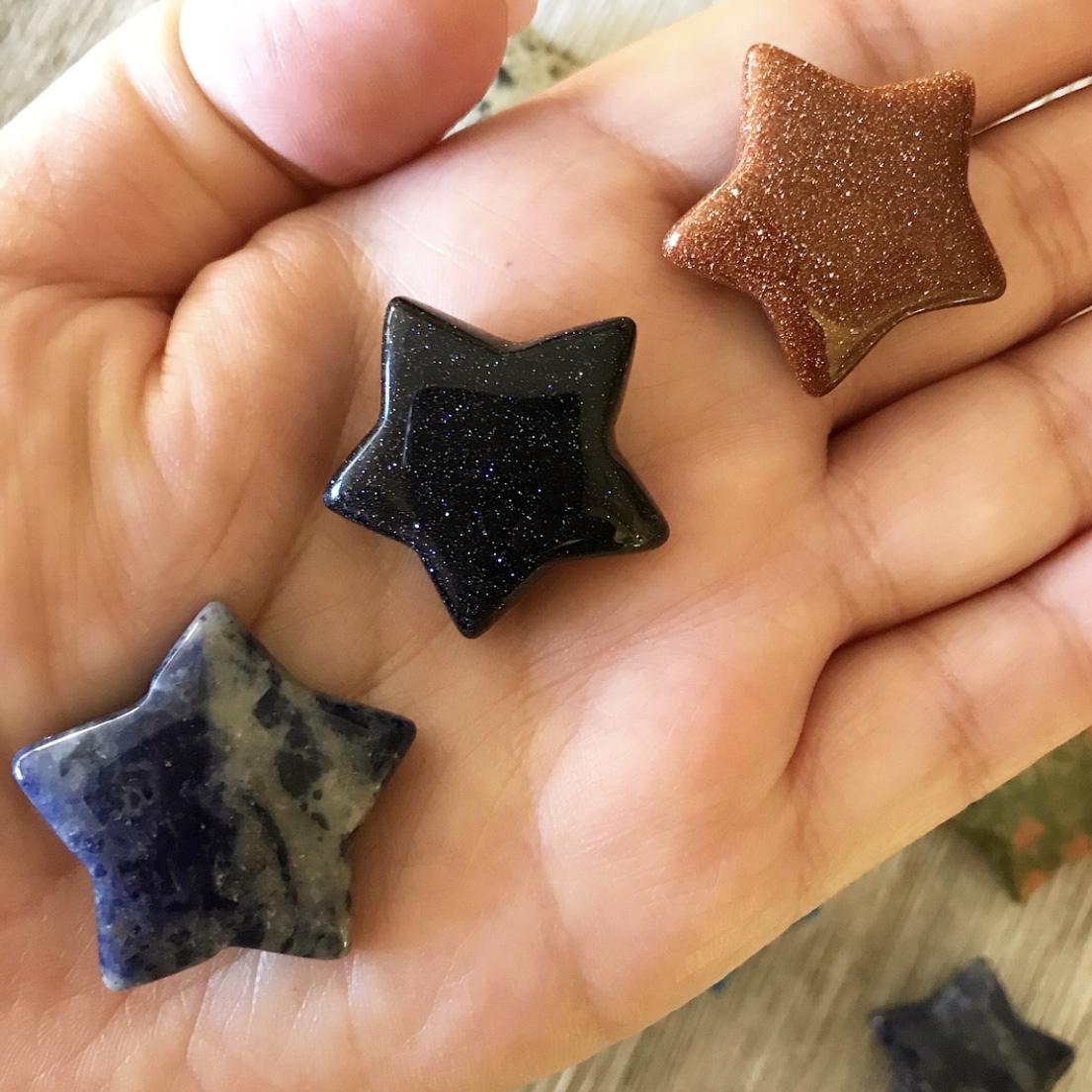 Small Gemstone Star Yatzuri Shop