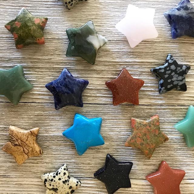 Small Gemstone Star Yatzuri
