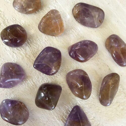 Ametrine tumbled stone Yatzuri