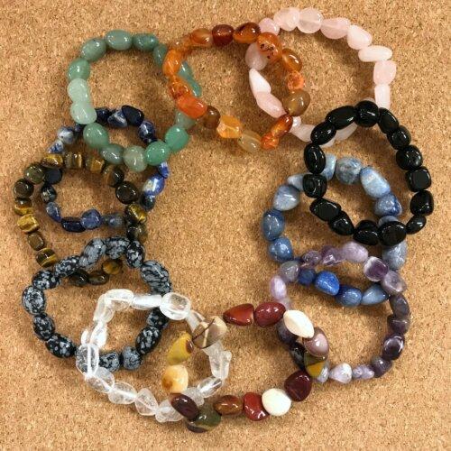 Gemstone Stretch Bracelets Yatzuri