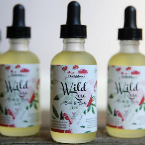Wild Rose Bath & Body Oil Yatzuri