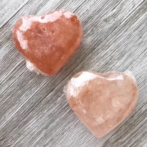 Pink Himalayan Salt Heart Yatzuri