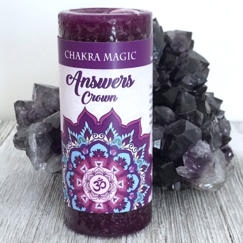 Crown Chakra Magic Candle Yatzuri