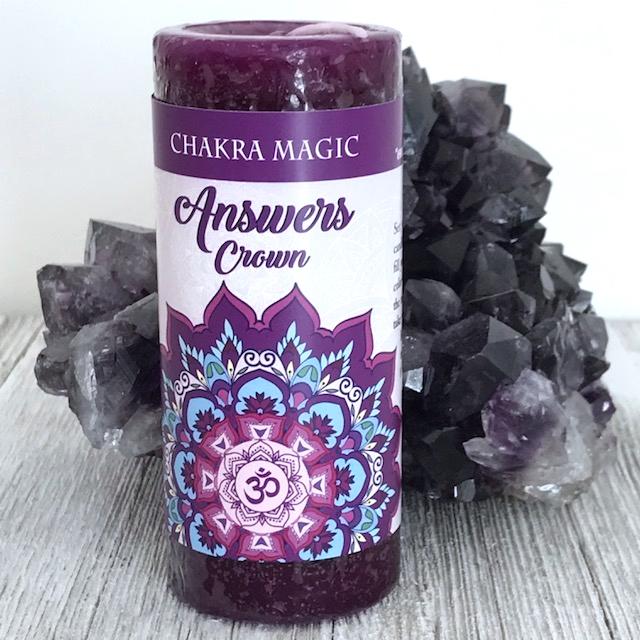 Crown Chakra Magic Candle Yatzuri