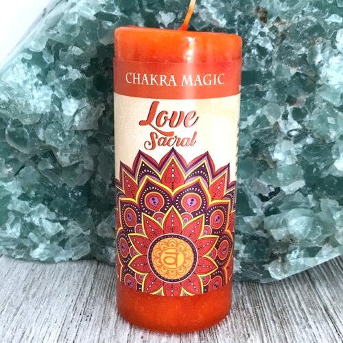 Sacral Chakra Magic Candle Yatzuri