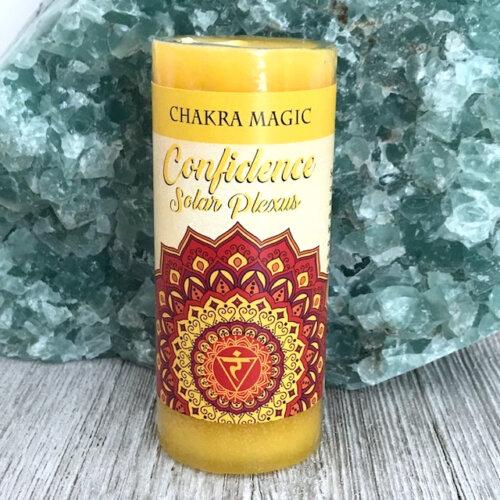 Solar Plexus Chakra Magic Candle Yatzuri
