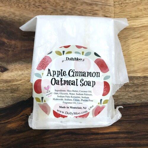 Apple Cinnamon Oatmeal Soap Yatzuri
