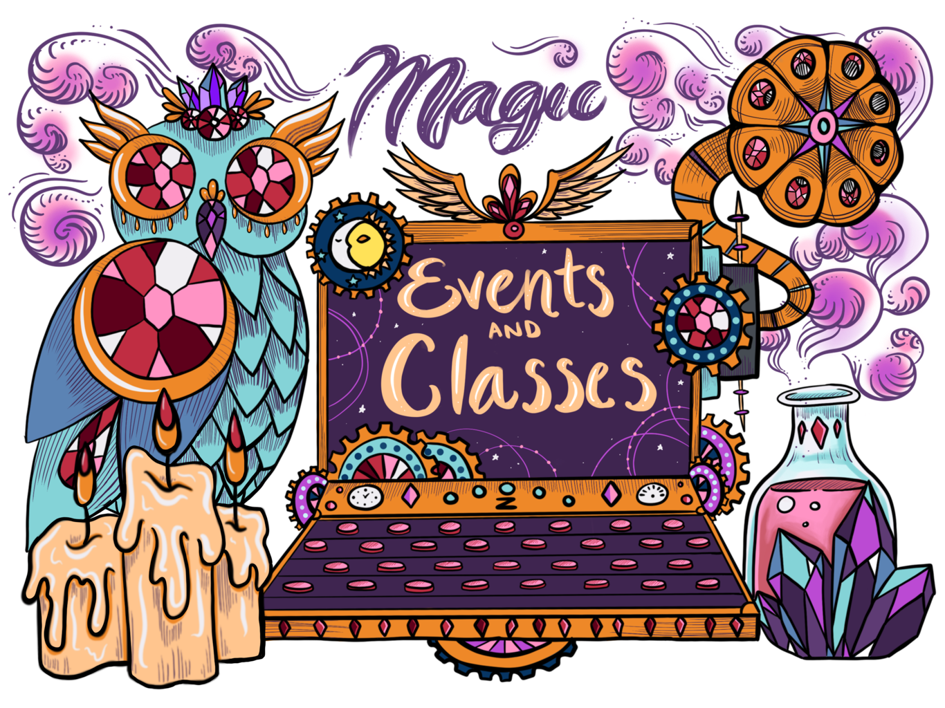Magic Events and Classes
