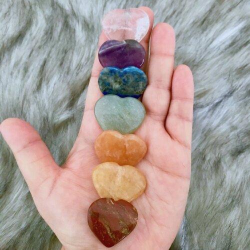 Chakra Heart Stone Set Yatzuri