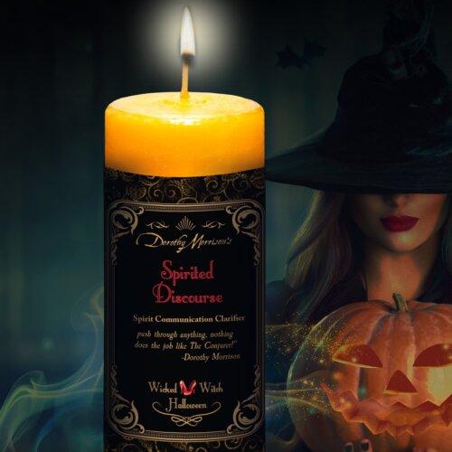 Spirited Discourse Wicked Witch Candle Yatzuri