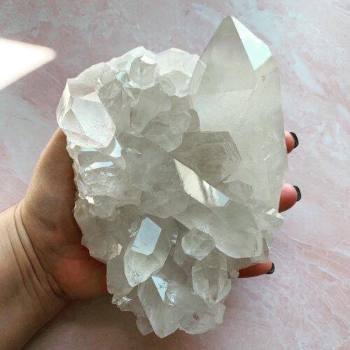 Clear Quartz Cluster #1 Yatzuri
