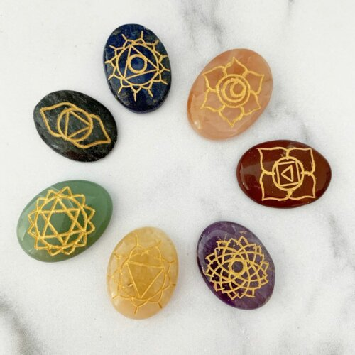 Chakra gemstone set Yatzuri