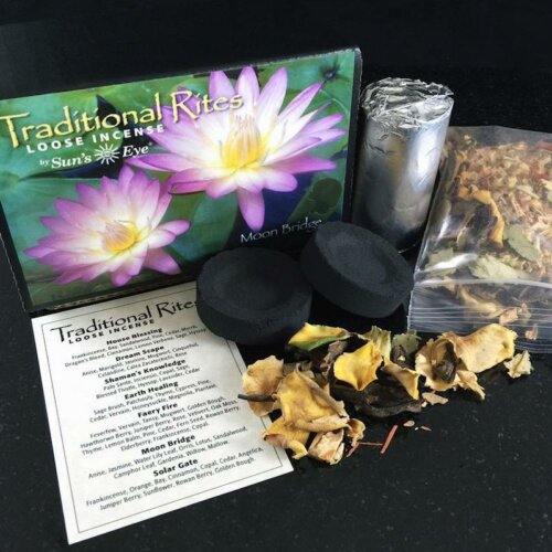 Moon Bridge Traditional Rites Loose Incense Kit Yatzuri