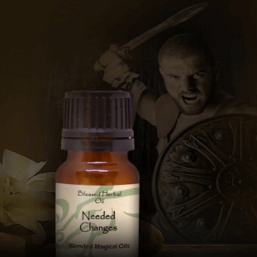 Needed Change Blessed Herbal Oil Yatzuri