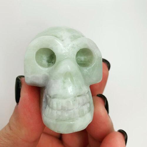 Burma Jade Skull Yatzuri